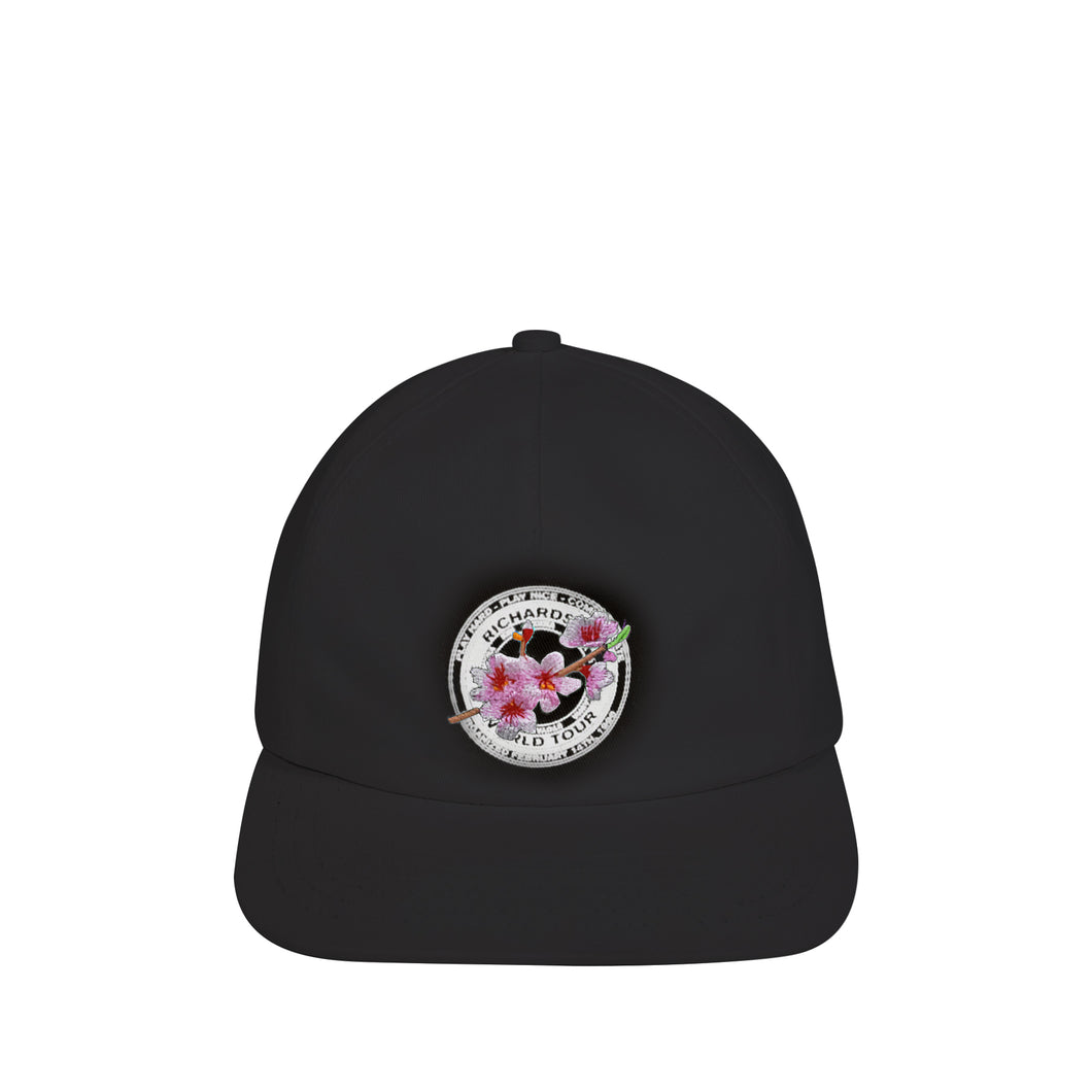 Cherry Blossom Teamster Cap