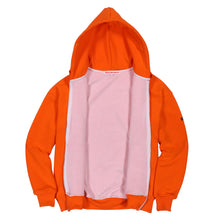 Thermal Drop Shoulder Zip Hoodie