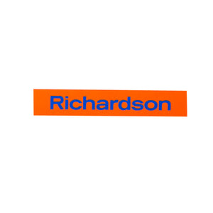 Richardson Logo Sticker