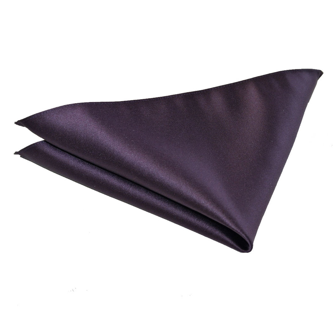Dark Purple Wedding Pocket Square by Van Buck