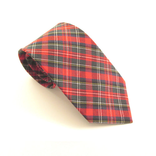 Ancient Stewart Tartan Tie by Van Buck