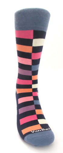 Van Buck Limited Edition Grey Block Socks