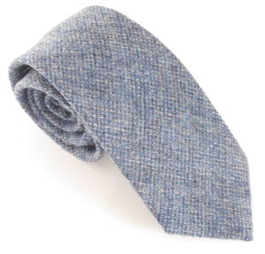 Blue Woodland Wool Tie by Van Buck