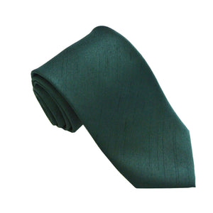 Deep Bottle Green Slub Wedding Tie By Van Buck
