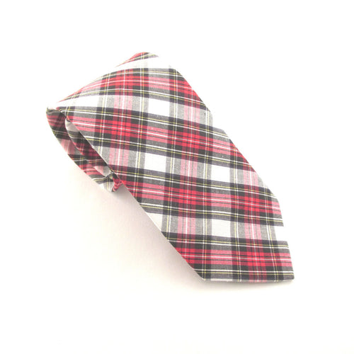 Dress Stewart Tartan Tie by Van Buck