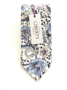Flora Cotton Tie Made with Liberty Fabric