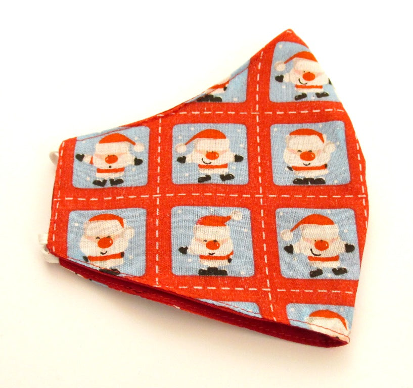Father Christmas Cotton Face Covering / Mask