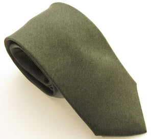 Green Soho Silk Wedding Tie by Van Buck