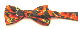 Red Chilli Pepper Pre-Tied Bow by Van Buck