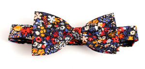 Floral Affair Bow Tie Made with Liberty Fabric