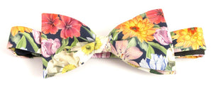Melody Blooms Bow Tie Made with Liberty Fabric