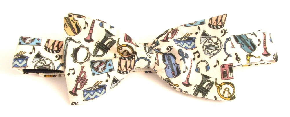 Miles Jazz Bow Tie Made with Liberty Fabric