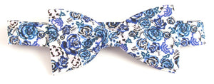 Palace Garden Liberty Print Cotton Pre-Tied Bow by Van Buck