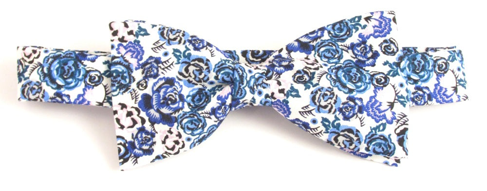 Palace Garden Bow Tie Made with Liberty Fabric