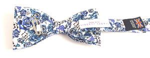 Liberty Print Palace Garden Bow Tie by Van Buck