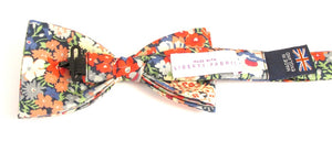 Liberty Print Thorpe Green Bow Tie by Van Buck