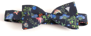 Temptation Liberty Print Cotton Pre-Tied Bow by Van Buck