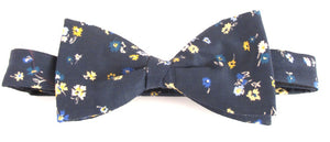 Staccato Liberty Print Cotton Pre-Tied Bow by Van Buck