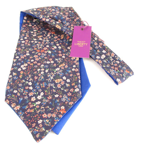 Donna Leigh Liberty Print Cotton Cravat by Van Buck