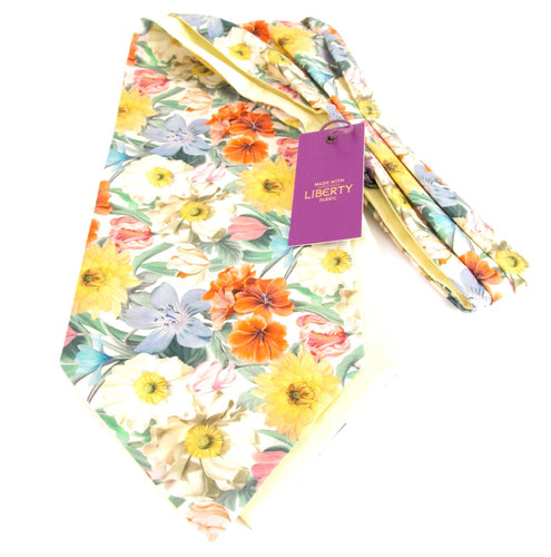 Meadow Medley Liberty Print Cotton Cravat by Van Buck