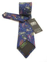 Limited Edtion Multicoloured Detailed Paisley Silk Tie by Van Buck