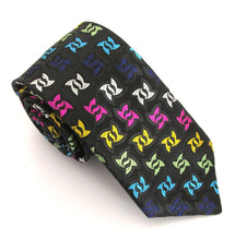Limited Edition Ninja Star Silk Tie by Van Buck