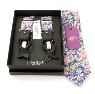 Tatum Tie & Trouser Braces Made with Liberty Fabric