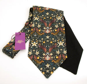 Forbidden Fruit Cotton Cravat Made with Liberty Fabric