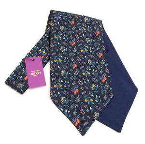 Berry Garden Cotton Cravat Made with Liberty Fabric
