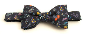 Berry Garden Bow Tie Made with Liberty Fabric