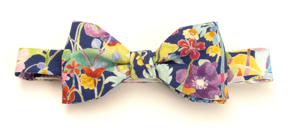 Proposal Bow Tie Made with Liberty Fabric