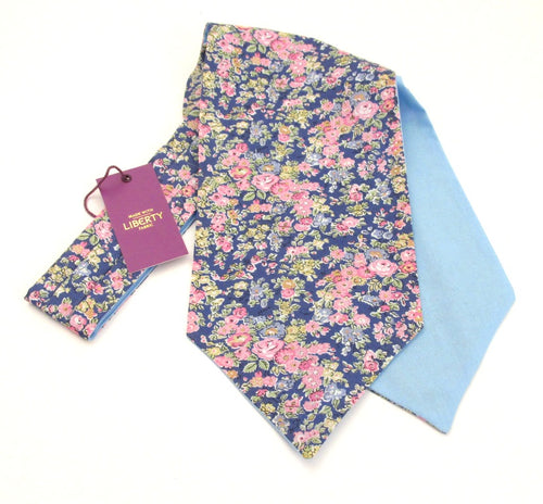 Tatum Cotton Cravat Made with Liberty Fabric