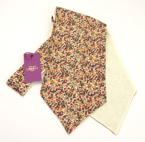 Wiltshire Bud Cotton Cravat Made with Liberty Fabric