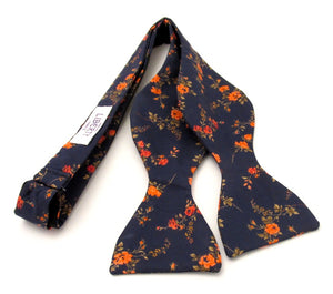 Elizabeth Self Tie Bow Tie Made with Liberty Fabric