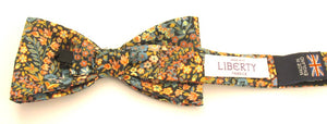 Little Marquees Bow Tie Made with Liberty Fabric