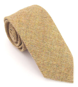Gold Woodland Wool Tie by Van Buck