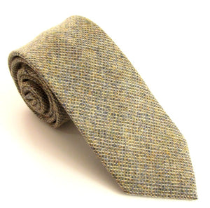 Grey Woodland Wool Tie by Van Buck