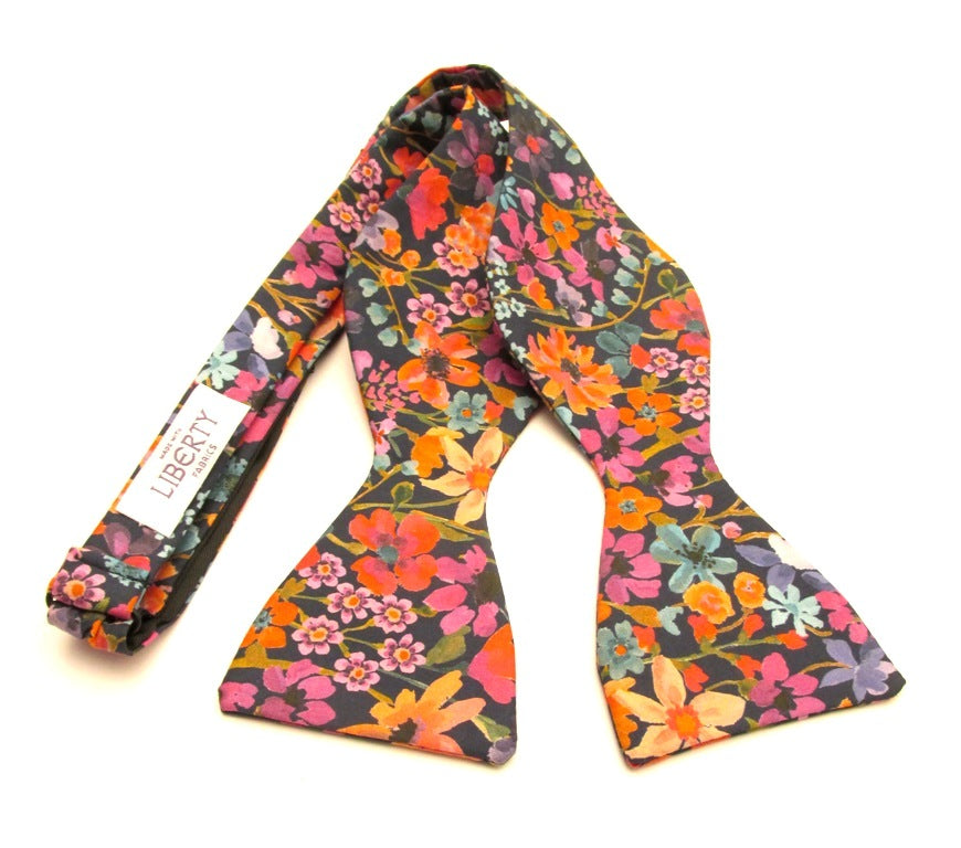 Dreams of Summer Self Tie Bow Tie Made with Liberty Fabric