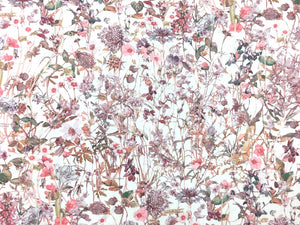 Wild Flowers Pink Liberty Fabric