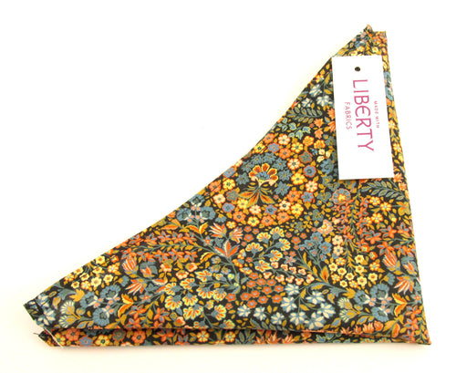 Little Marquees Cotton Pocket Square Made with Liberty Fabric
