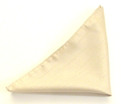 Van Buck Slub Plain Coffee Pocket Square