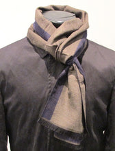 Brown Plain Scarf by Van Buck