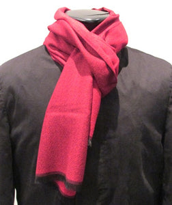 Red Plain Scarf by Van Buck