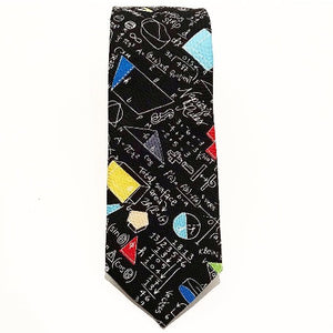 School Maths Tie by Van Buck