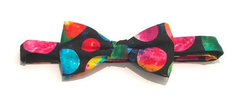 Moons Cotton Pre-Tied Bow by Van Buck