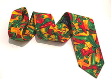 Chilli Pepper Cotton Tie by Van Buck