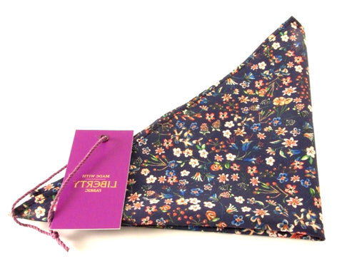 Donna Leigh Liberty Print Pocket Square by Van Buck