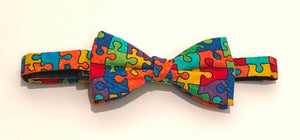 Puzzle Pre-Tied Bow by Van Buck