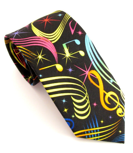 Music Novelty Tie by Van Buck