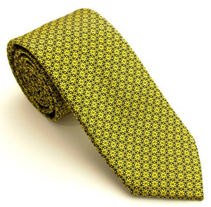 Christmas Gold Stars Tie by Van Buck